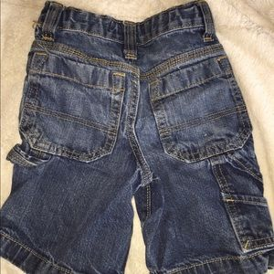 Old navy denim shorts 5 adjustable